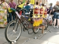Bike with prayer wheel